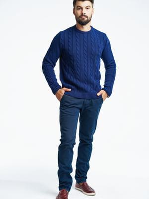 Джемпер темно-синій | 5632375