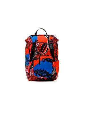 Рюкзак разноцветный в принт | 5630144