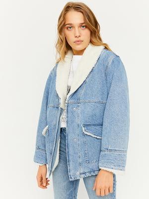 Куртка голубая | 5633118