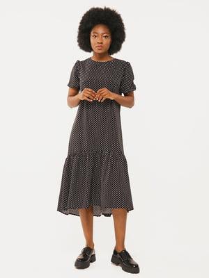 Сукня чорна в цяточку | 5633172