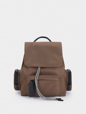 Рюкзак бежевый | 5634703
