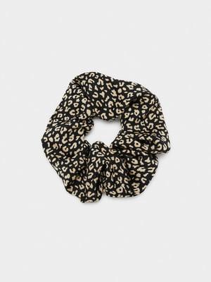 Резинка черная с декором | 5635153