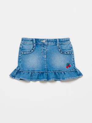 Спідниця синя джинсова | 5635339