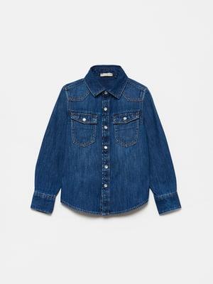 Рубашка джинсовая | 5635362