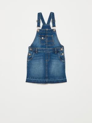 Сарафан синий джинсовый | 5635450