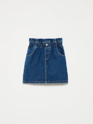 Юбка синяя джинсовая | 5635452