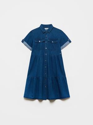 Платье синее | 5635477