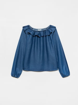 Блуза синяя | 5635484
