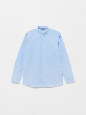 Рубашка голубая | 5635522