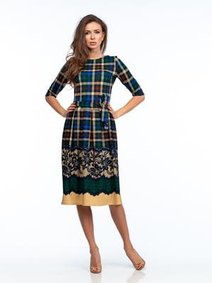 Платье в принт | 5635702