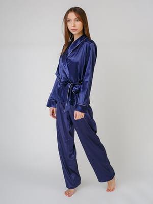 Костюм домашний: халат, майка и брюки | 5546493