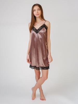 Рубашка ночная бронзового цвета | 5631511