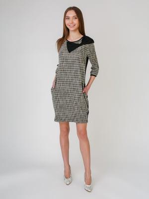 Сукня двоколірна в смужку | 5631556