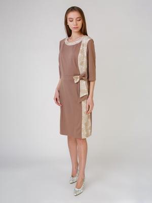 Сукня кавового кольору   5631541