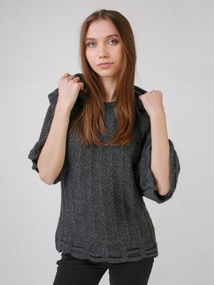 Джемпер серый | 5631565