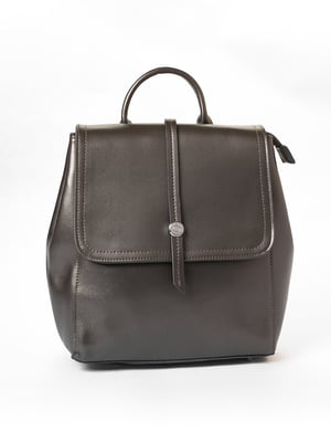 Сумка-рюкзак графитового цвета | 5635715