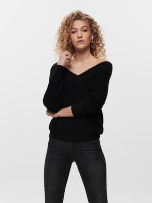 Пуловер чорний | 5635607