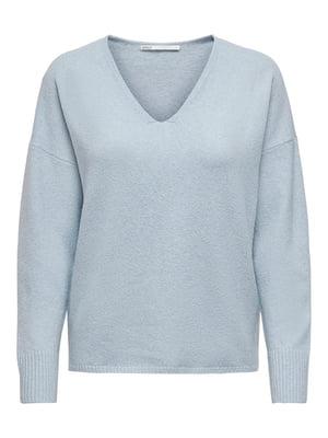Пуловер голубой   5635627