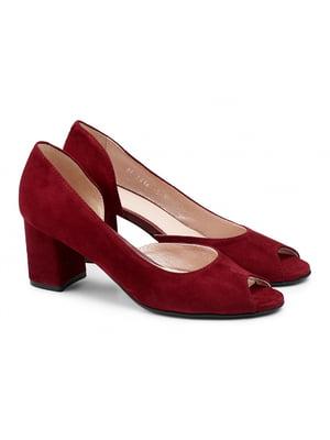 Туфли вишневого цвета | 5635925