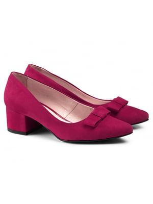 Туфли малинового цвета | 5635929