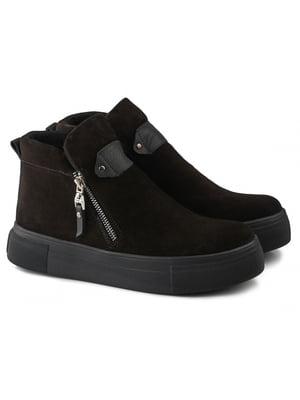 Ботинки черные   5635936