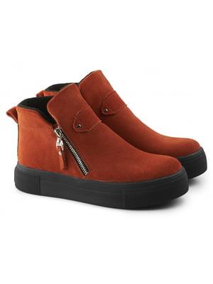 Ботинки рыжего цвета | 5635937