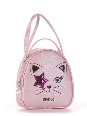 Рюкзак розовый с рисунком | 5636571