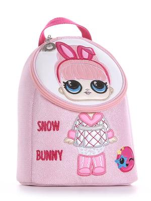 Рюкзак розовый с рисунком   5636578