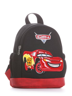 Рюкзак чорний з малюнком | 5636580