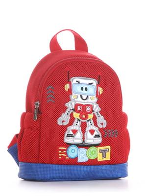 Рюкзак красный с рисунком | 5636583