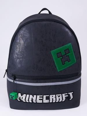 Рюкзак черный с принтом   5636592