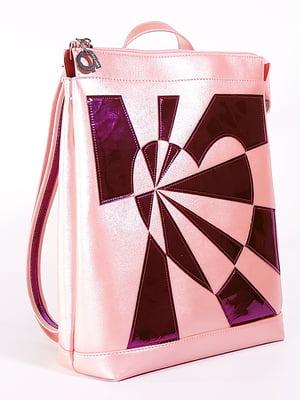 Рюкзак розовый с рисунком   5636599