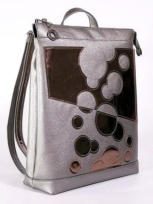 Рюкзак стального кольору | 5636601