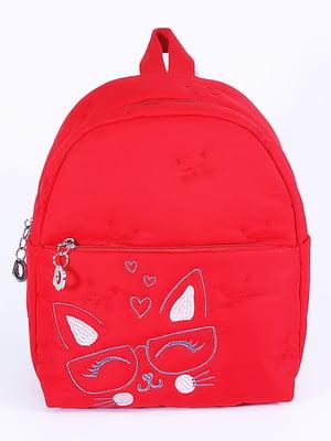 Рюкзак красный с рисунком   5636610