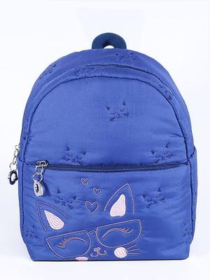 Рюкзак синій з малюнком   5636611