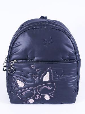 Рюкзак черный с рисунком | 5636612