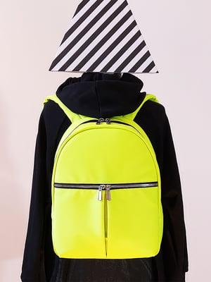 Рюкзак желтый | 5636665