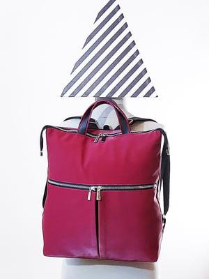Рюкзак бордовый | 5636670