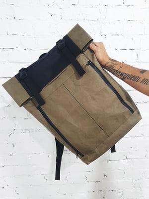 Рюкзак цвета хаки | 5636694