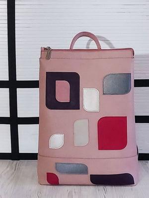 Рюкзак розовый с рисунком   5636707