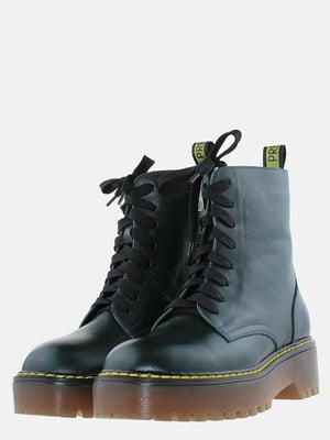 Ботинки зеленые | 5633223