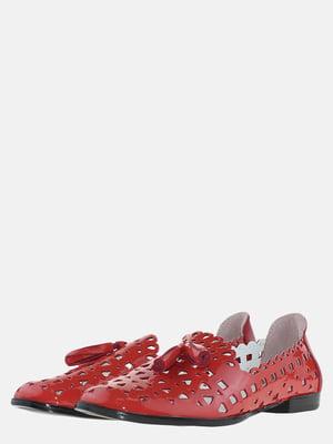 Балетки червоні | 5635795