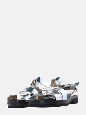 Сандалии серебристого цвета | 5639260
