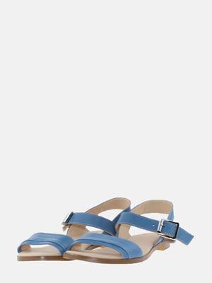 Сандалии голубые | 5639275
