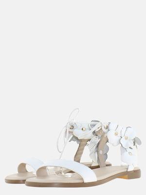 Сандалии белые | 5639280