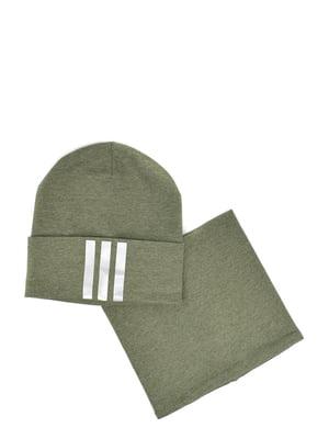 Комплект: шапка и бафф | 5639380