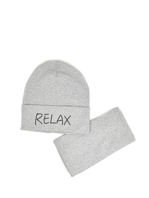 Комплект: шапка и бафф | 5639398