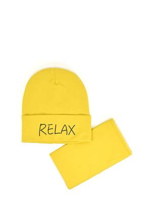 Комплект: шапка и бафф | 5639401