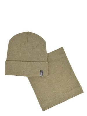 Комплект: шапка и бафф | 5639441