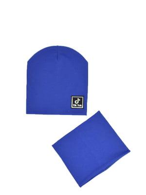 Комплект: шапка и бафф | 5639463